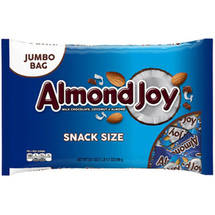 Almond Joy Coconut & Almonds Chocolate Snack Size Bars Jumbo Bag