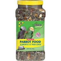 3-D Pet Products Premium Parrot Food