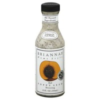 Brianna's Home Style Rich Poppy Seed Dressing