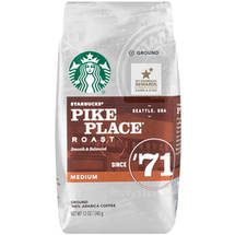 Starbucks Pike Place Roast Ground Coffee