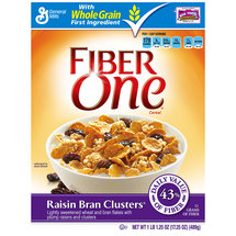 Fiber One Lightly Sweetened Wheat & Bran Flakes Cereal