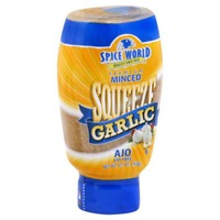 Spice World Squeeze Minced Garlic