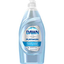 Dawn Platinum Power Clean Refreshing Rain Scent Dishwashing Liquid 20 Fl Oz