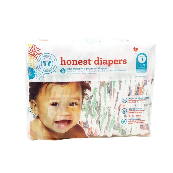 The Honest Company Honest Diapers Size 4 - 29CT