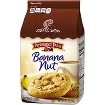 Pepperidge Farm Coffee Shop Banana Nut Soft Baked Cookies