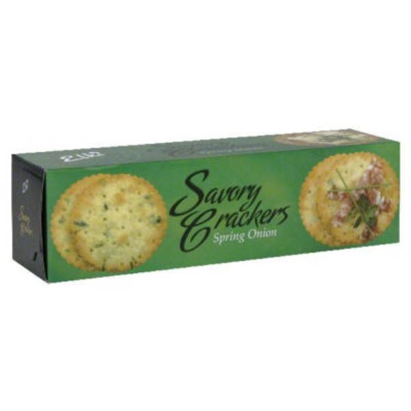 Elki Savory Crackers, Spring Onion