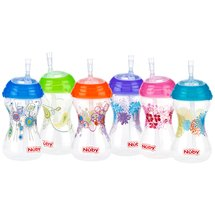 Nuby Clik-it FlexStraw Design Cup