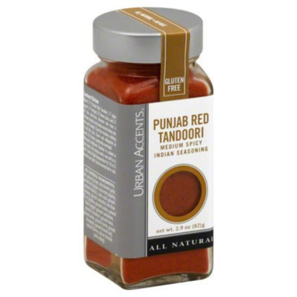 Urban Accents Punjab Red Tandoori Medium Heat Indian Seasoning