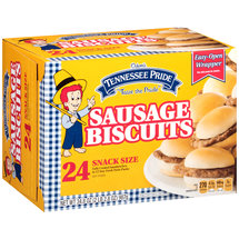 Odom's Tennessee Pride Sausage Biscuit