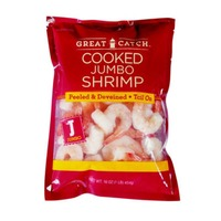 Great Catch Cooked Jumbo Peeled And Deveined Shrimp