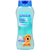 Pro-Sense Baby Powder Scent Puppy Shampoo with Odor-Eliminating Complex