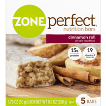 ZonePerfect Nutrition Bars Cinnamon Roll