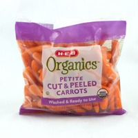 H-E-B Organic Petite Cut And Peeled Carrots