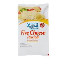 Great Value Five Cheese Ravioli