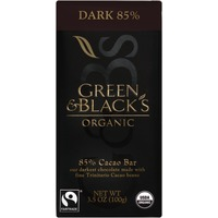 Green & Black's King Bars Dark with 85% Cacao Content Organic Chocolate