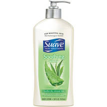 Suave Skin Therapy Body Lotion with Aloe