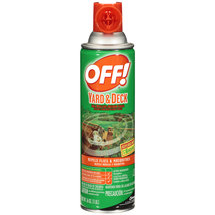 Off! Yard & Deck Area Flies & Mosquitoes Repellent/Outdoor Fogger