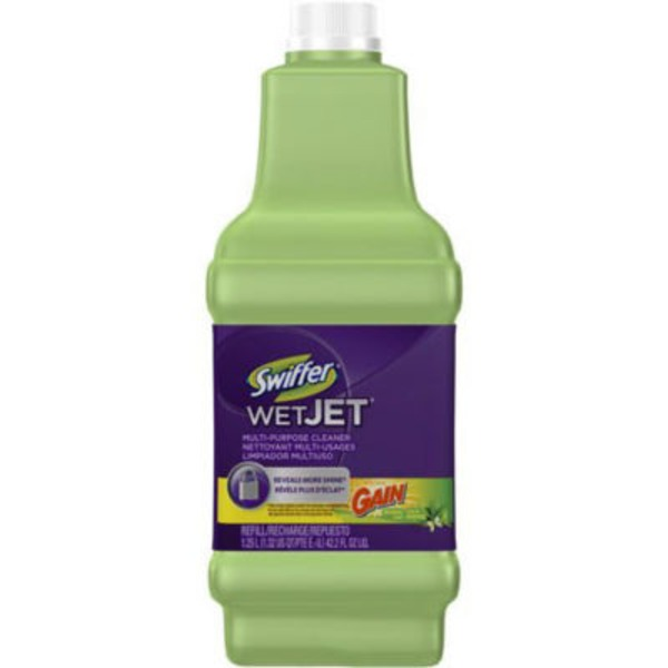 Swiffer WetJet Swiffer WetJet Multi-purpose Floor Cleaner Solution Refill Gain Scent 1.25L Surface Care
