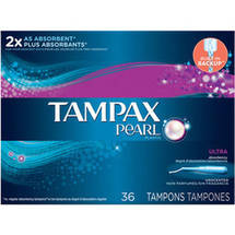 Tampax Pearl Tampons Ultra Unscented