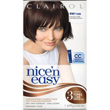 Clairol Nice 'N Easy Permanent Hair Color Mahogany Black 126