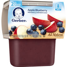 Gerber 2nd Foods Apple Blueberry Baby Food