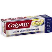 Colgate Total Advanced Clean Plus Whitening Anticavity Fluoride And Antigingivitis Toothpaste