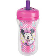 The First Years Disney Minnie Mouse Insulated Straw Cup & Lid