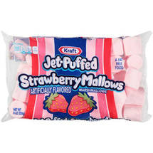 Jet-Puffed Strawberry Marshmallows