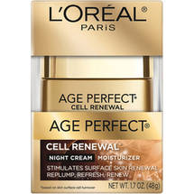 L'Oreal Paris Age Perfect Cell Renewal Night Cream Moisturizer