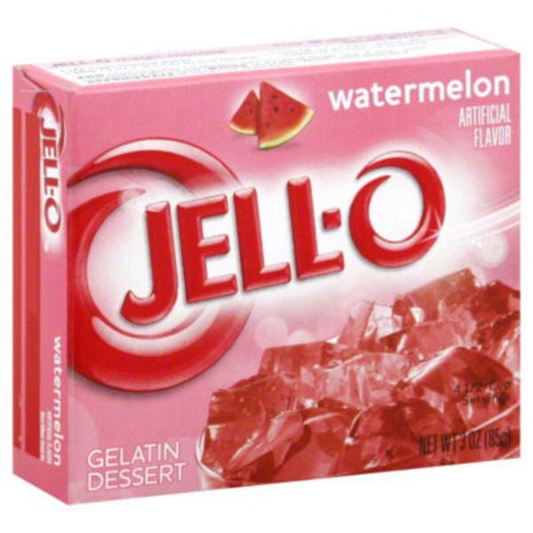 Jell-O Watermelon Gelatin Dessert Mix
