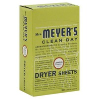 Mrs. Meyer's Lemon Verbena Dryer Sheets 80 ct