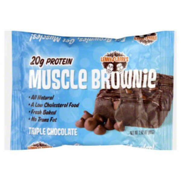 Lenny & Larry's Triple Chocolate Muscle Brownie
