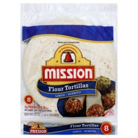 Mission Flour Burrito Tortillas, Large