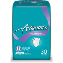 Assurance Belted Undergarments Extra Absorbency