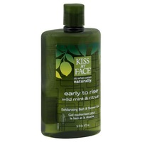 Kiss My Face Early to Rise Bath & Shower Gel Wild Mint & Citrus