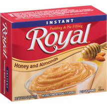 Royal Honey and Almond Instant Pudding and Pie Filling