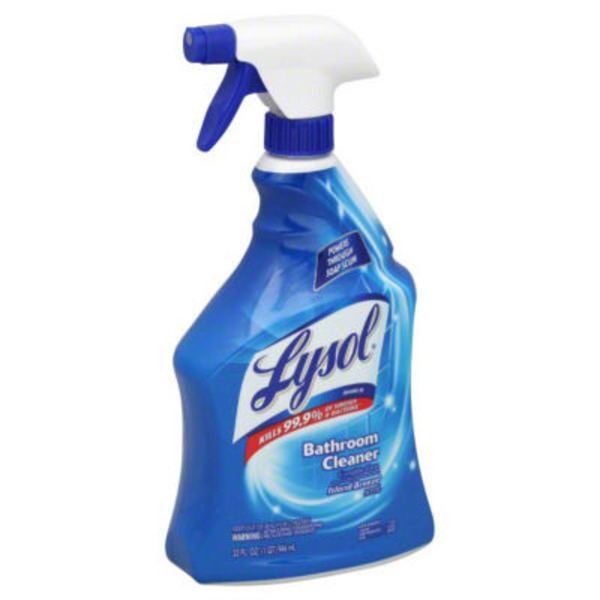 Lysol Power Bathroom Cleaner Bathroom Trigger