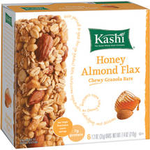 Kashi Honey Almond Flax Chewy Granola  Bars