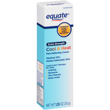 Equate Extra Strength Cool & Heat Pain Relieving Cream