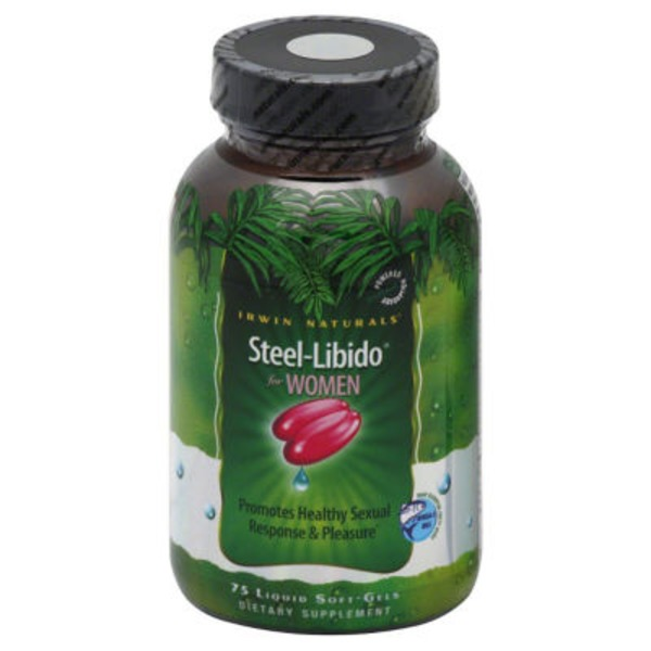 Irwin Naturals Steel-Libido for Women Liquid Soft-Gels