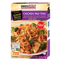 InnovAsian Cuisine Mai Pham Lemon Grass Kitchen Chicken Pad Thai