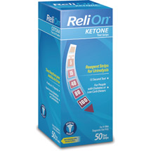 ReliOn Ketone Test Strips