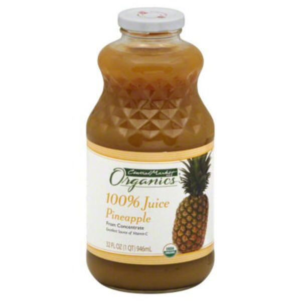 Central Market 100% Pineapple Juice From Concentrate