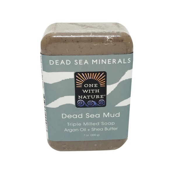 One With Nature Soap, Dead Sea Mud