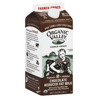 Organic Valley 64 oz UHT Reduced Fat Chocolate Milk