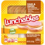 Oscar Mayer Lunchables Ham & Swiss Cheese with Crackers Lunchables