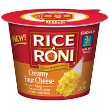 Rice-A-Roni Creamy Four Cheese Flavor Microwave Cup