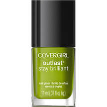CoverGirl Outlast Stay Brilliant Nail Gloss Nuclear