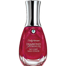 Sally Hansen Diamond Strength No Chip Nail Color Red Velvet