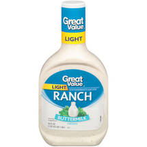 Great Value: Light Buttermilk Ranch Dressing